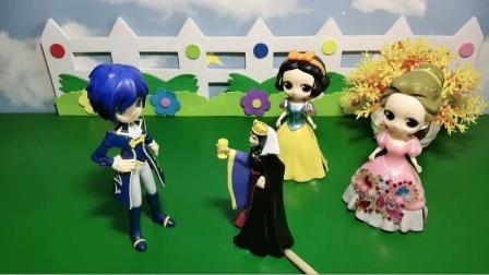 两个漂亮的公主,王子该怎么选呢?