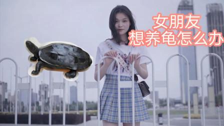 女朋友要养龟怎么办,怕她养不活,做套过滤就放心多了