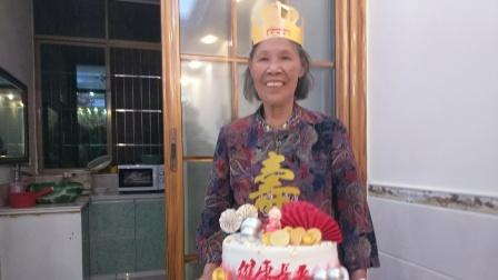 母亲86周岁