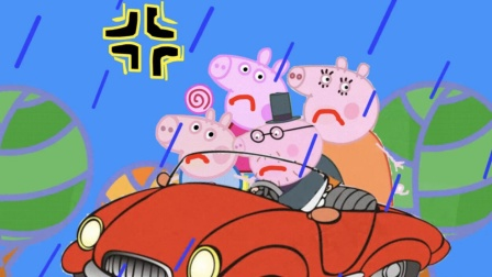 小猪佩奇第七季之猪爸爸的敞篷车超级飞侠宝宝巴士