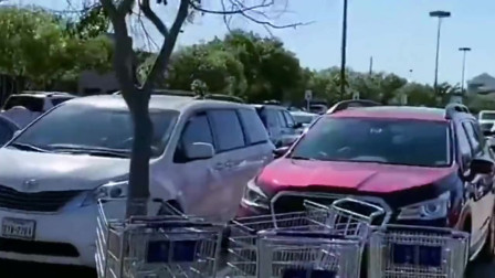 美国疫情越来越严重了,在超市花500美金囤货,准备在家隔离