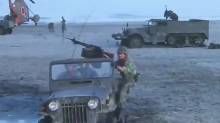 军队穿越到古代,被古代士兵用箭射击,反击那一刻太爽了