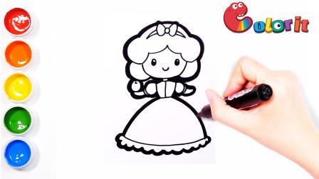可爱的白雪公主她喜欢吃苹果吗?