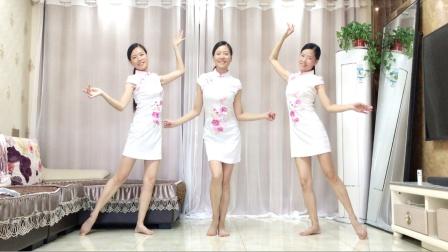 广场舞《爱的恰恰》32步简单扭胯健身操
