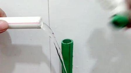 从日本进修回来的水电工,对于这种带水热熔技术,掌握的游刃有余
