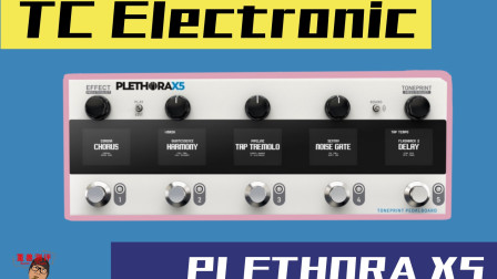 重兽测评-TC Electronic PLETHORA X5 电吉他周边效果器