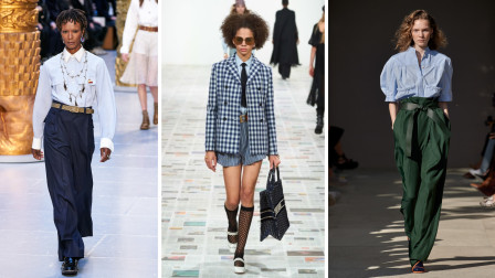 2020时装周上的创意混搭设计作品