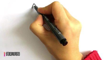 画小马宝莉简笔画  一笔一笔教你画出小马宝莉简笔画之紫悦