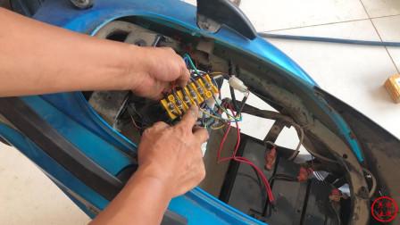 电动车换万能控制器,也不能正常起步行驶!小白看完轻松了解故障