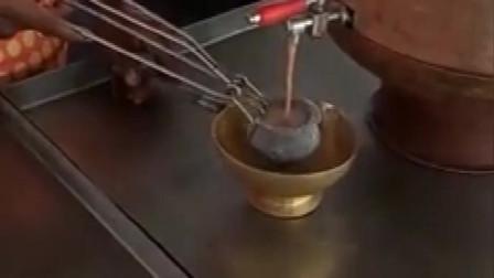 这个奶茶是最好喝的,在印度,唯一能算上美食之一