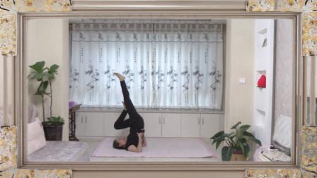 宅家瑜伽练习 紫玉第一个月瑜伽练习  录制制作 紫玉