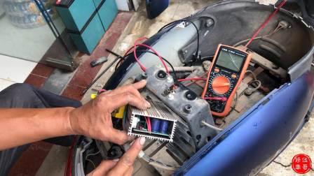 水淹电动车维修,电机和控制器是否进水,一招教你自己轻松了解