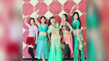 中山肚皮舞JQ国际舞蹈瑜伽导师班手臂线条训练