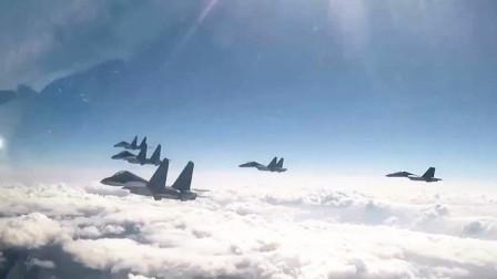 """解放军巡逻""""海峡中线""""大量细节曝光,大批战机从多个基地起飞"""