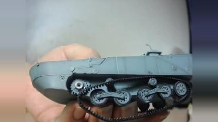 威龙 二式内火艇 卡米 水陆坦克模型 闲谈p2