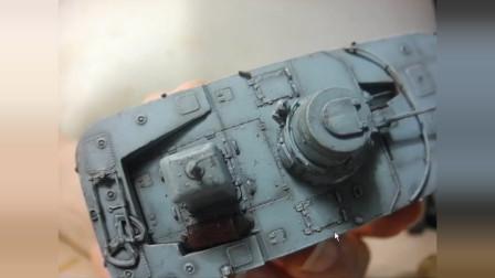 威龙 二式内火艇 卡米 水陆坦克模型 闲谈p5