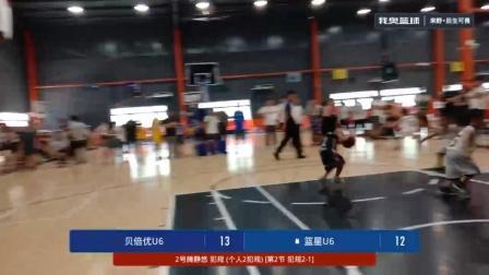 U6决赛 贝倍优少儿篮球俱乐部vs篮星——第二节