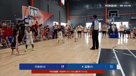 U6决赛 贝倍优少儿篮球俱乐部vs篮星——第三节