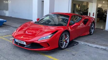 漂亮!Ferrari F8 Tributo