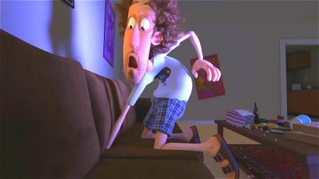 宅男在家不出门,有天突然被吸进沙发里,发现许多意想不到的东西!