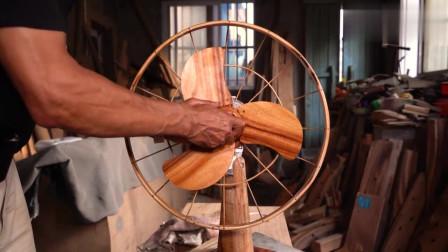 老木匠把10块钱的电风扇,做到1000块钱,这就是工匠精神
