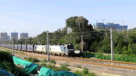 【太原西南环线】HXD2牵引货列接近太原西站(202007)