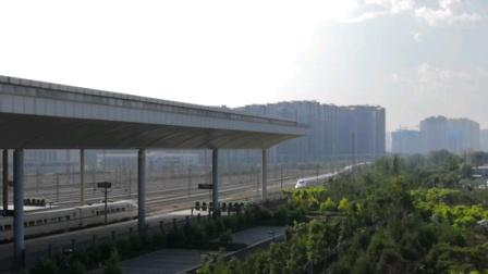 【大西高铁】D2003次(北京西~运城北)太原南站进站