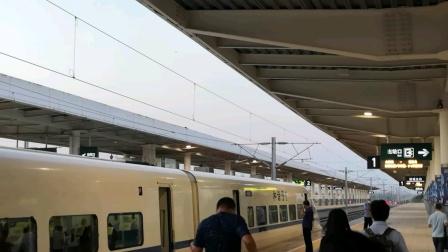 【大西高铁】D2527次抵达运城北站后站内简录