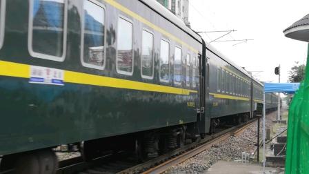 【南同蒲铁路】客电8845次(临汾~运城)晚点102分通过,运城站接近