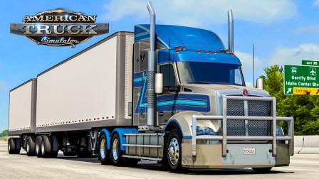 美洲卡车模拟 - 爱达荷州 #17:为袋鼠国设计的卡车 - 肯沃斯T610 | American Truck Simulator