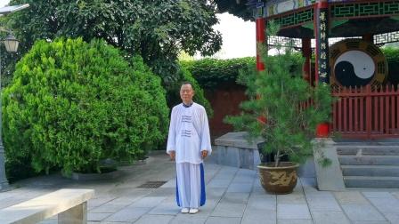 42式太极拳第一次在西安临潼骊山明圣宫道观于2020年8月演练