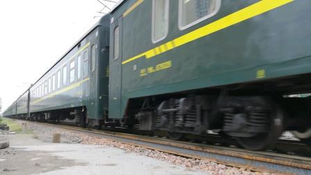 【南同蒲铁路】客车快7808次(运城~大同)正点通过