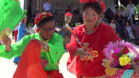 大美东北秧歌舞:公主岭市世纪广场秧歌队表演