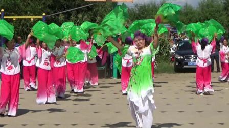 大美东北秧歌舞:吉林怀德县大榆树村孙全秧歌队表演(第二场 完整版)