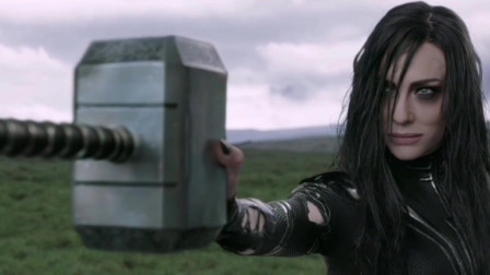 没有人可以举起我的锤子,美队:你说啥?海拉:我捏碎了