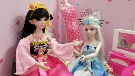 叶罗丽故事 冰公主不想上补习班,罗丽有什么好办法呢?