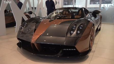 价值350万美元的 帕加尼 Huayra 敞篷跑车