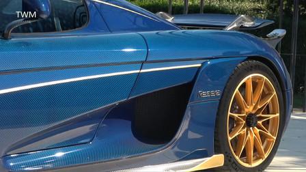 价值400万美元的 柯尼赛格 Regera 1500P马力的超级跑车