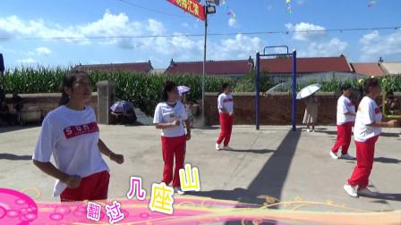广场舞《醉在草原爱一回》高家岗村文化大院舞蹈队表演(独家制作)