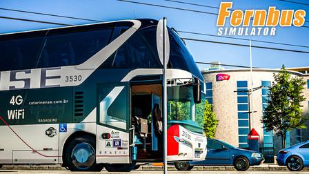 长途客车模拟 #205:运送一车兰斯的空气早点到达第戎 | Fernbus Simulator