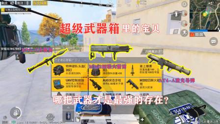 明月:挑战武器箱里的武器吃鸡!谁才是火力对决里的最强武器?