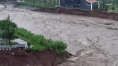 四川:暴雨致超24万人受灾 抢险救援正在进行 共度晨光 20200820 高清