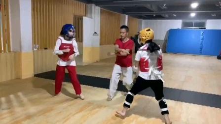 安溪宏翔跆拳道女子竞技实战