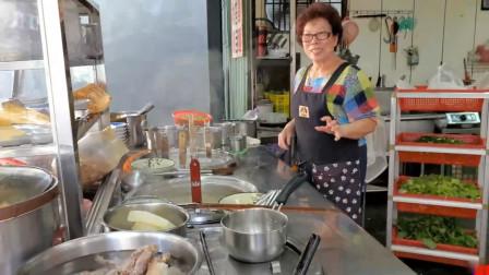 台北小巷中隐藏着很多美食,这家的米苔目,就非常厉害,值得一吃