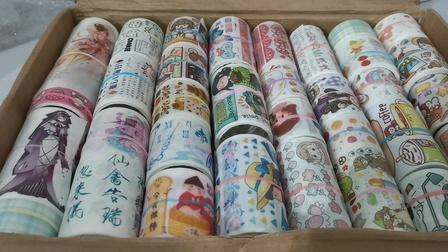 【筱兮】手账胶带➕便利贴分装购物分享