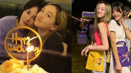 王菲女儿摆摊义卖被偶遇,头发染成金色变时尚达人,这模样哪像是14岁?