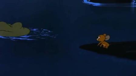 猫和老鼠:杰瑞救了小狗,没想到被这个狗狗缠住,一直跟着它