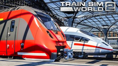 模拟火车世界 2:玩到游戏解禁 372km/h最速德兔 | 2020/08/20~21直播录像