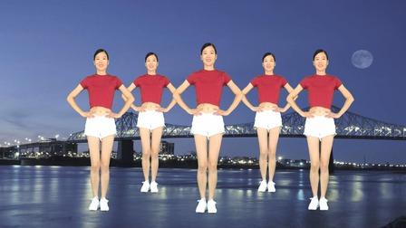 精选广场舞《漂亮小妹》32步入门健身操