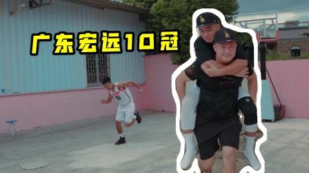中国模仿帝分饰多角!还原广东宏远第10冠,祝福易建联很细节!